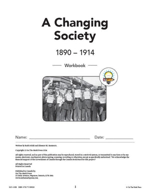 Canada: A Changing Society -10/pk Workbooks