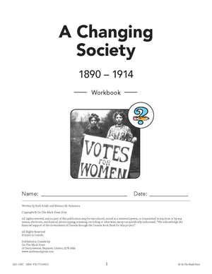 Canada: A Changing Society  - 10/pk HI/LO Workbooks
