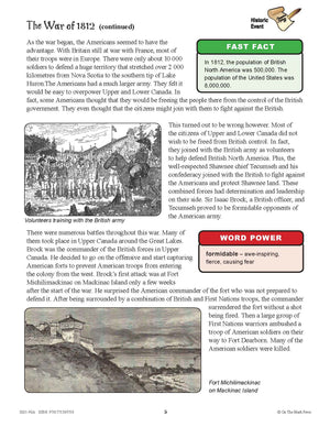 Conflicts & Challenges - Canada 1800-1850 Grade 7 - 10/pk Readers