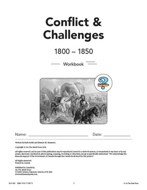 Conflicts & Challenges - Canada 1800-1850 Grade 7 - 10/pk HI/LO workbooks