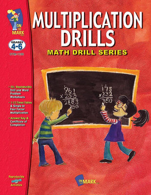 Multiplication Drills Grades 4-6