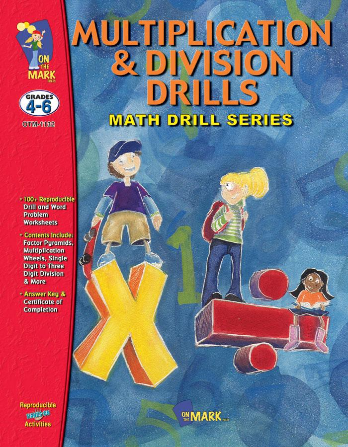 Multiplication & Division Drills Bundle! Grades 4-6