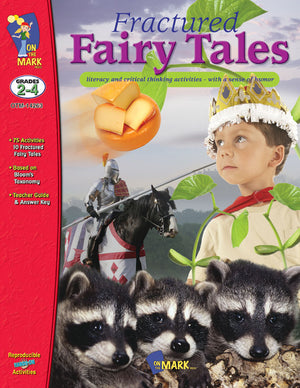 Fractured Fairy Tales & The Stinky Cheese Man - using Bloom's Taxonomy Grades 2-4