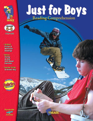 Just for Boys Grades 6-8 Reading Comprehension