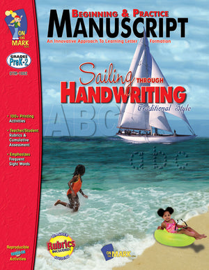 Traditional Manuscript: Beginning and Practice Big Book Grades PreK-2