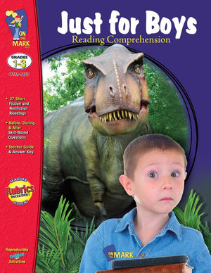 Just for Boys Grades 1-3 Reading Comprehension