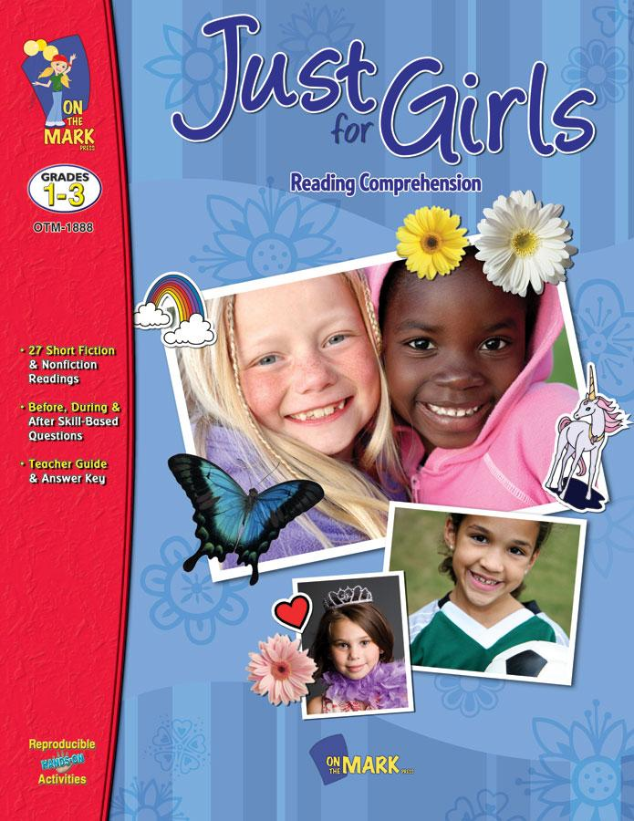 Just for Girls Grades 1-3 Reading Comprehension
