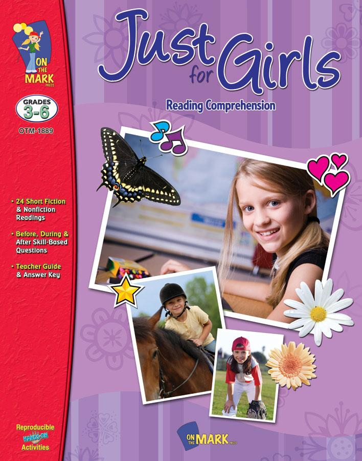 Just for Girls Grades 3-6 Reading Comprehension