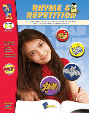 Rhyme & Repitition Grades Kindergarten to Grade 3