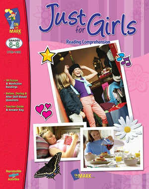 Just for Girls Grades 6-8 Reading Comprehension