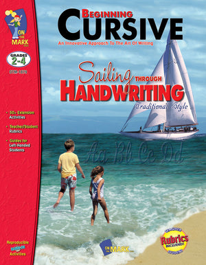 Traditional Cursive Handwriting Workbook Grades 2-4