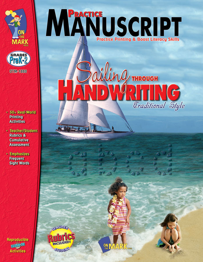 Traditional Manuscript Practice Workbook Grades PreK-2