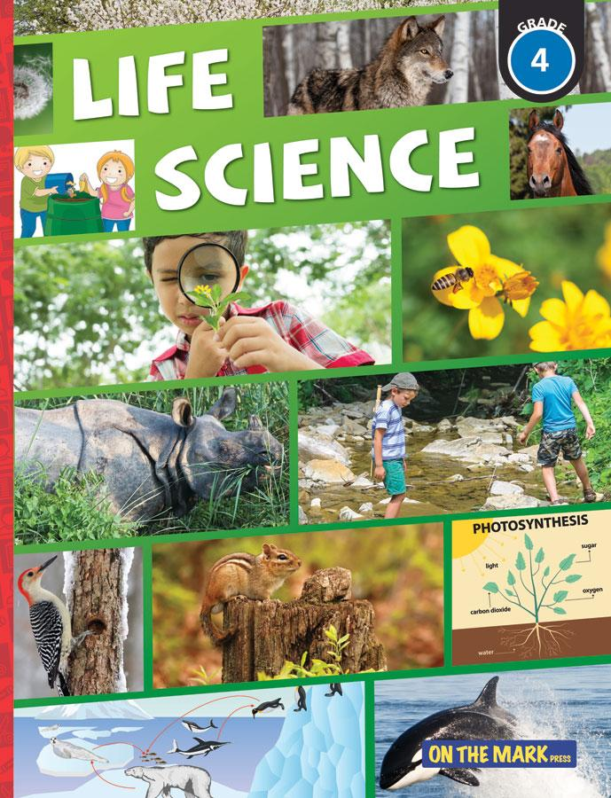 Life Science: Habitats & Communities; and Plant Growth & Changes Grade 4