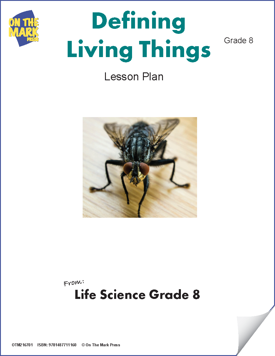 Defining Living Things Grade 8 (eLesson Plan)