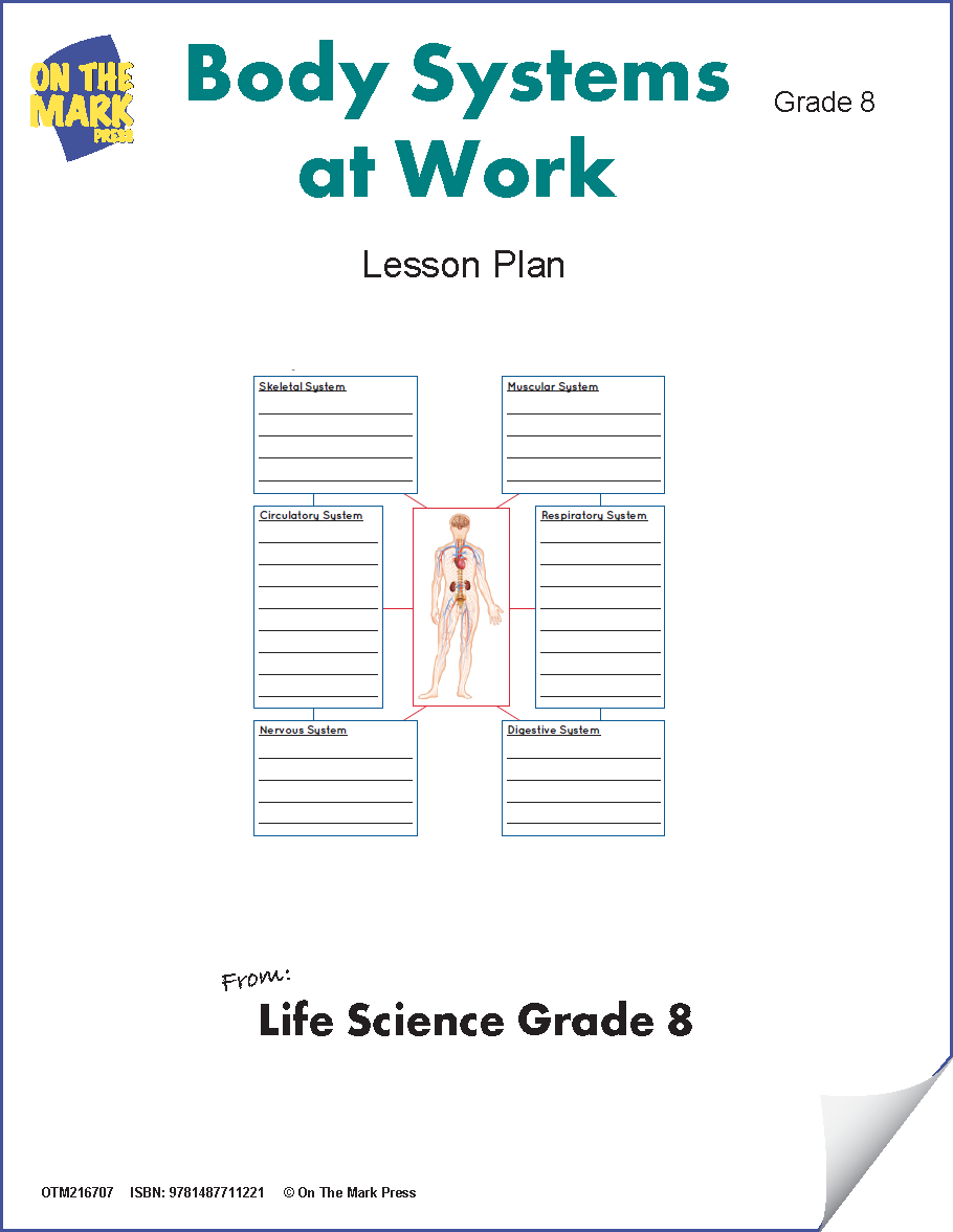 Body Systems at Work Grade 8 (eLesson Plan)