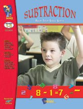 Subtraction Practice Build Their Skills Workbook Grades 1-3