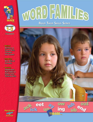 Word Families Practice Grades 1-3: Build Their Skills Workbook