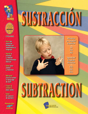 SUSTRACCION/SUBTRACTION SPANISH/ENGLISH GR. 1-3