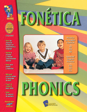 FONETICA/PHONICS SPANISH/ENGLISH GR. 1-3