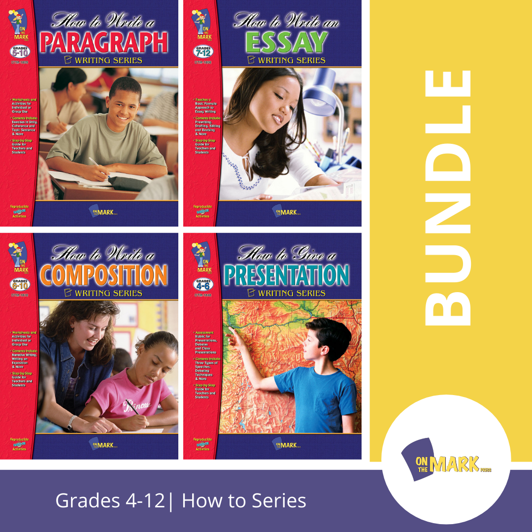 How To Write and Present 4 Book Bundle! Grades 4+