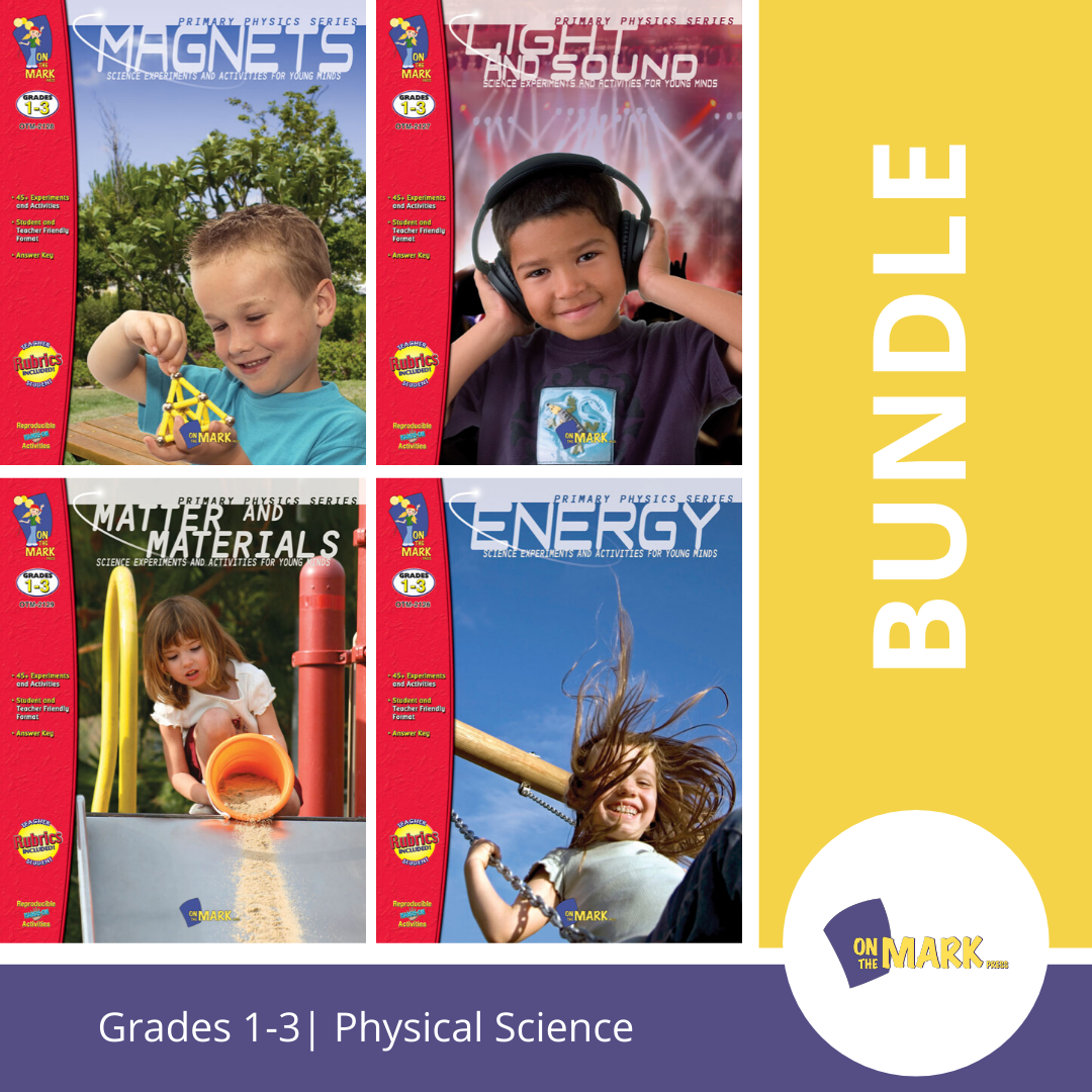 Physical Science Grades 1-3 - 4 Book Bundle!