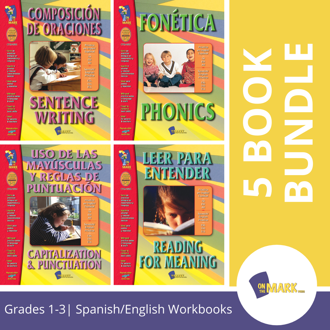 SPANISH/ENGLISH LANGUAGE ARTS 5 BOOK SET