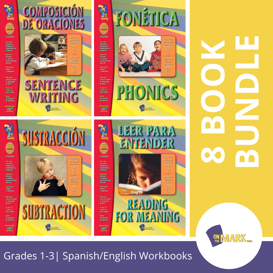 Spanish/English 8 Book Bundle!