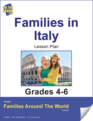 Families in Italy Lesson Plan Grades 4-6