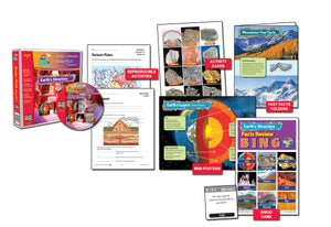 Earth's Structure Earth Science Binder Plus Program Grades 4+