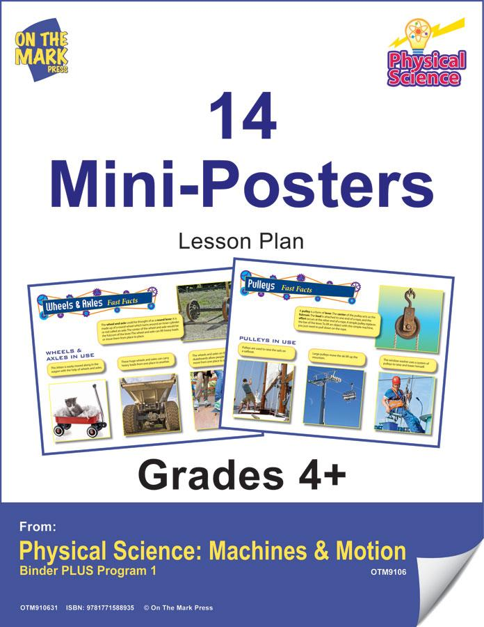 14 Physical Science Mini-Posters Grades 4+