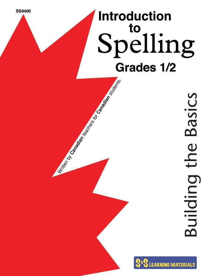 Introduction to Spelling Grades 1/2 - Building the Basics Workbook