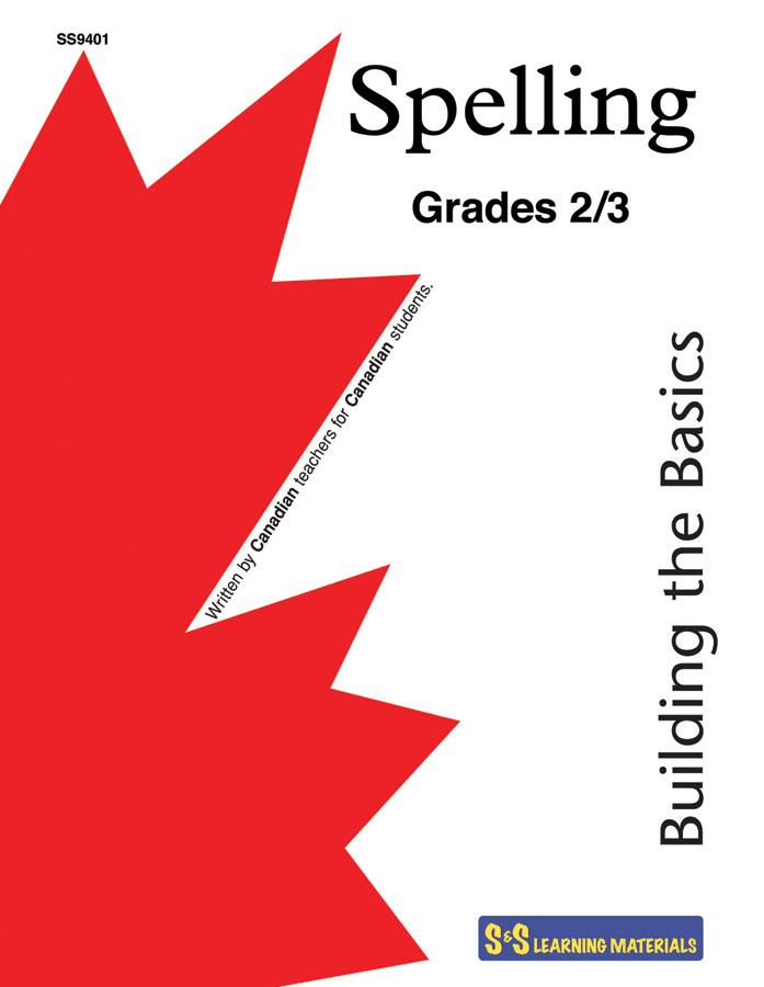 Spelling Grades 2/3: Building the Basics Workbook