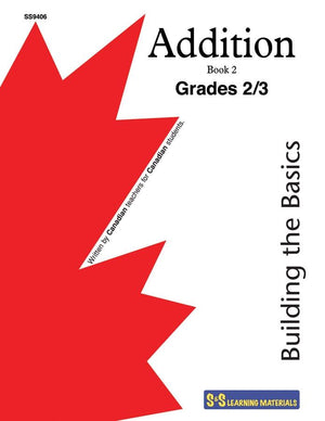 Addition Facts Grades 2/3 - Building the Basics Workbook #2