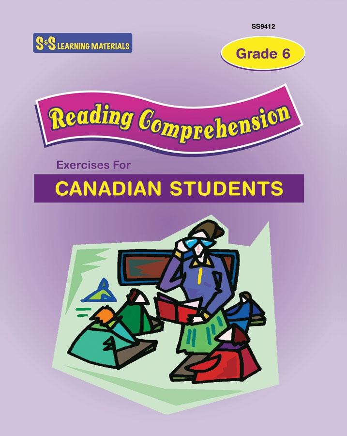 Reading Comprehension Exercises Grade 6 for Canadian Students