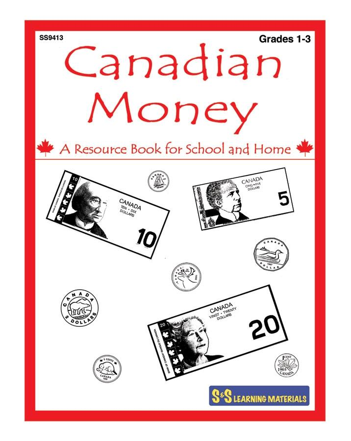 Canadian Money Grades 1-3 - Building the Basics Workbook