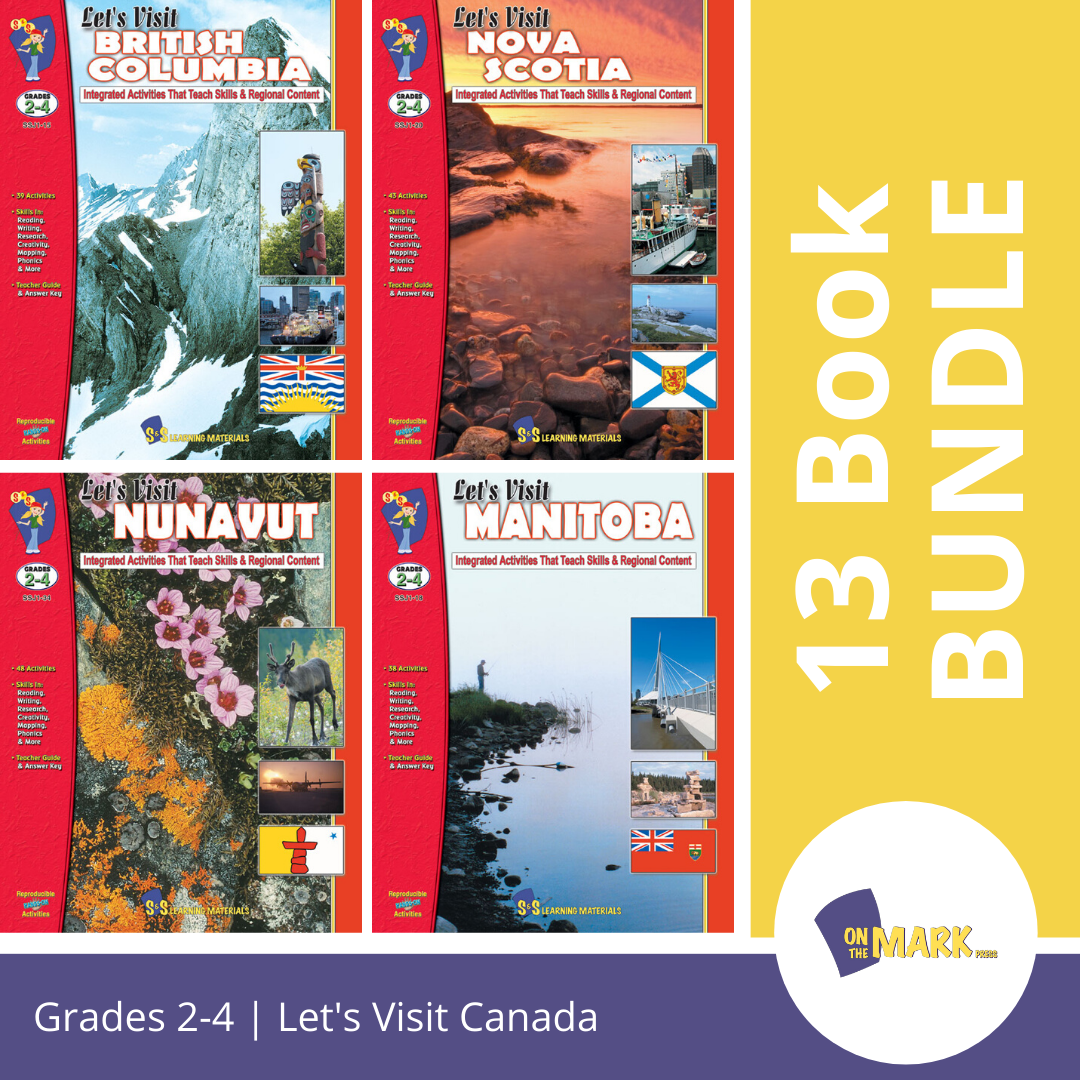 Let's Visit Canada - A Complete 13 Book Set