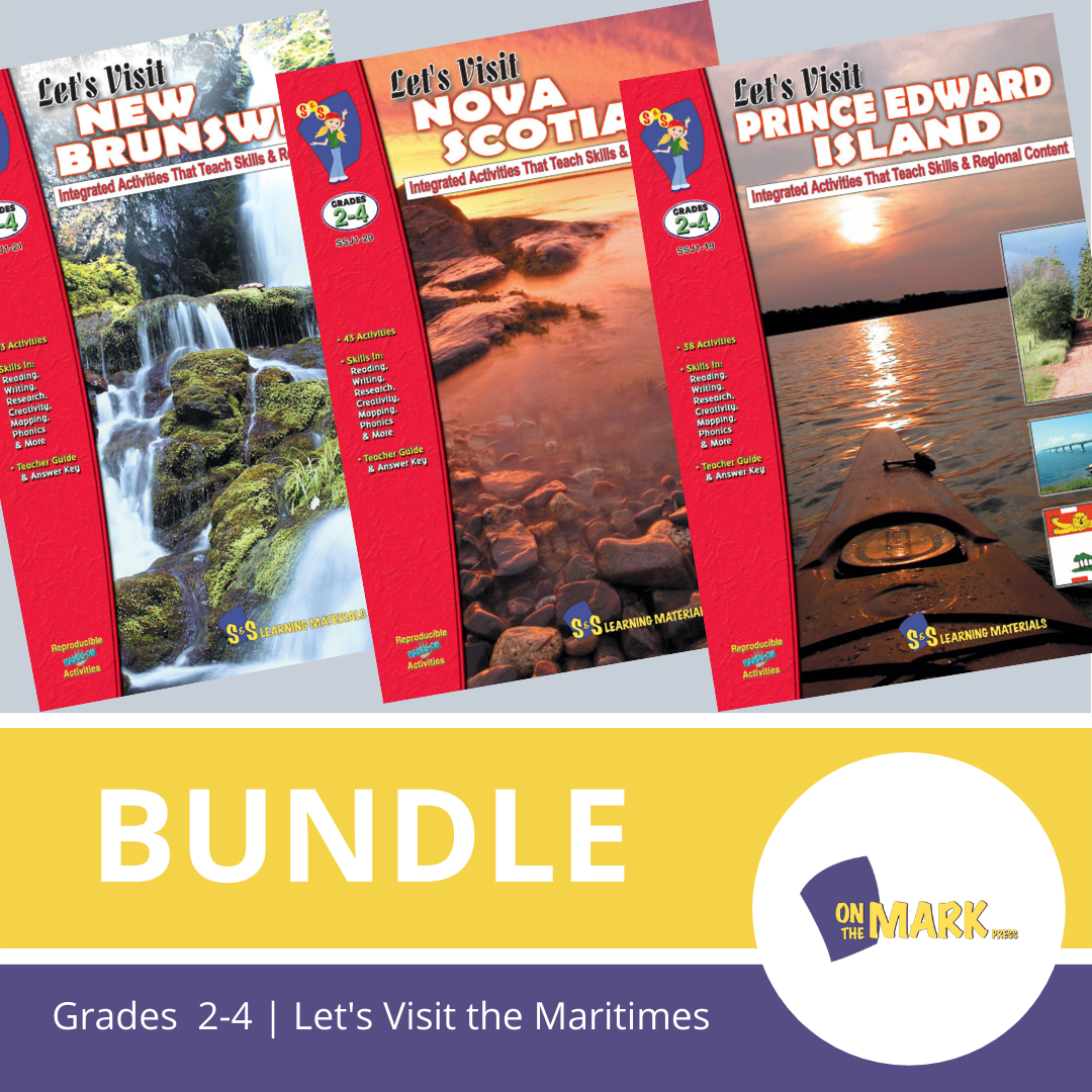 Let'S Visit The Maritimes A 3 Book Bundle Grades 2-4