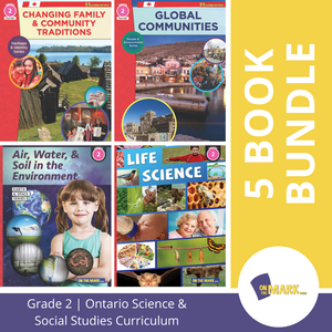 Ontario Grade 2 Science & Social Studies 5 Book Bundle!