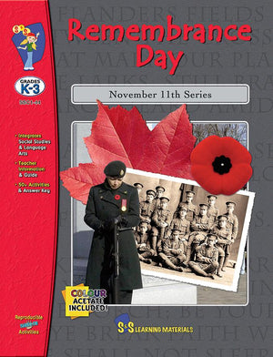 Remembrance Day Grades Kindergarten to 3