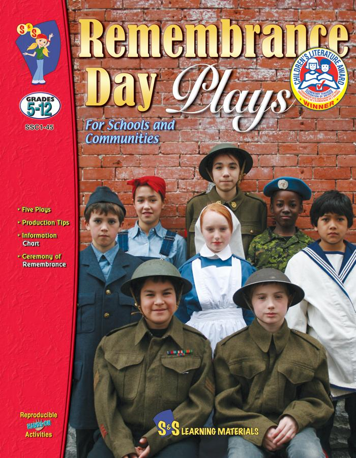 Remembrance Day Plays Grades 5-12