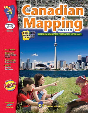 Canadian Mapping Skills: Extending Knowledge Grades 4-5