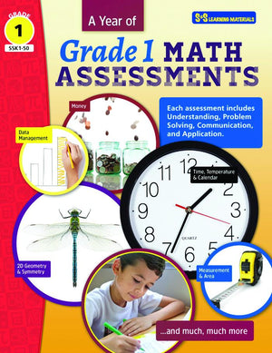 A Year of Grade 1 Math Assessments