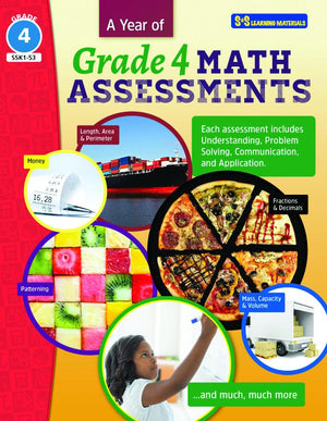 A Year of Grade 4 Math Assessments