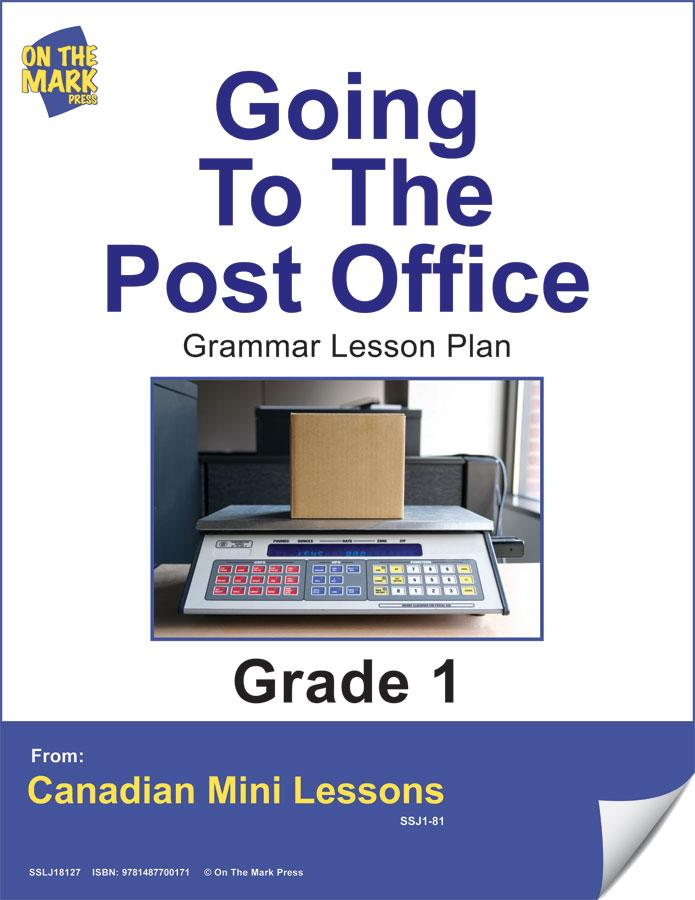 Going to the Post Office Grammar Lesson Gr. 1 E-Lesson Plan