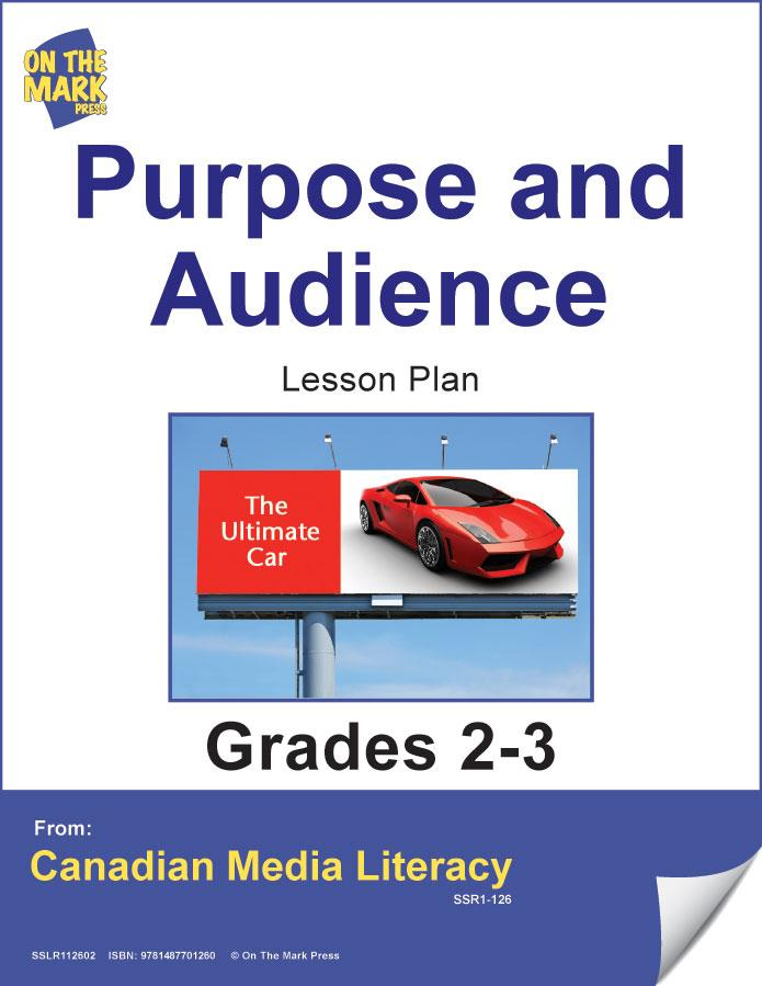 Purpose & Audience Gr. 2-3 E-Lesson Plan