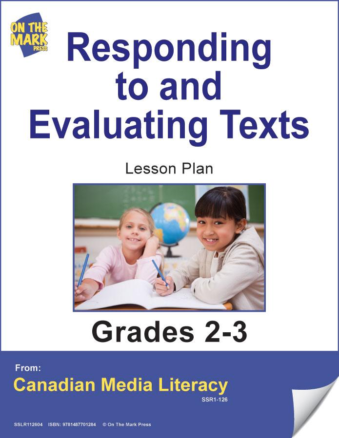 Responding To & Evaluating Texts Gr. 2-3 E-Lesson Plan