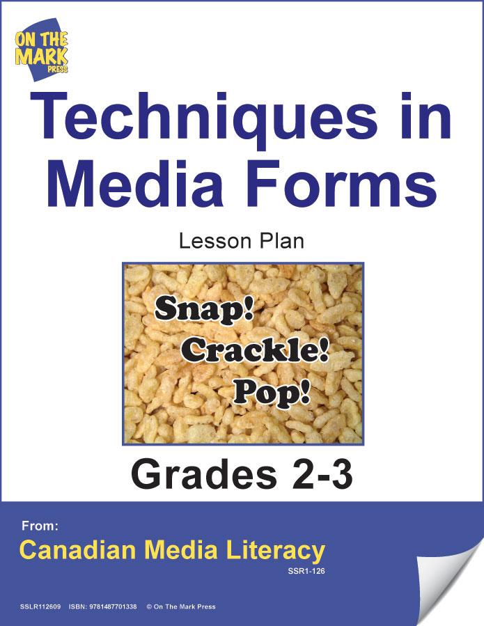 Techniques In Media Forms Gr. 2-3 E-Lesson Plan
