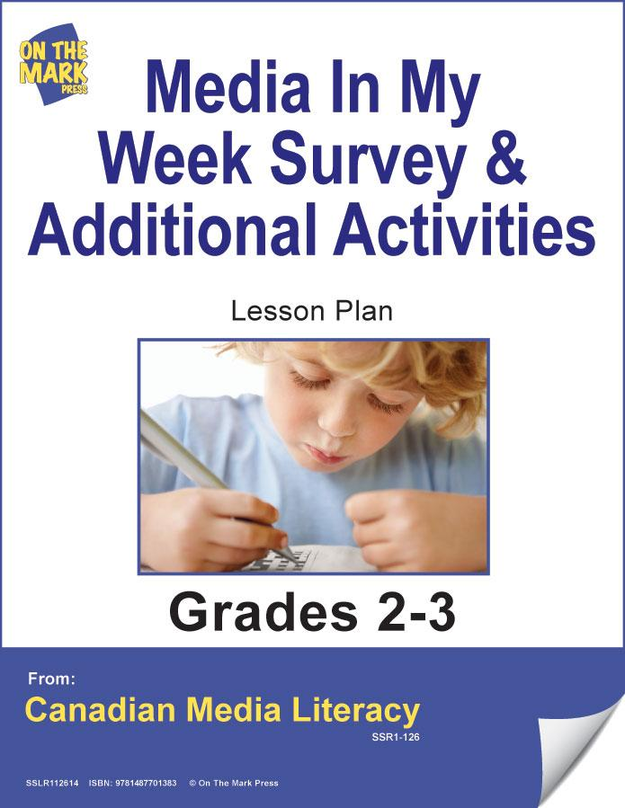 Media Survey & Additional Activities Gr. 2-3 E-Lesson Plan