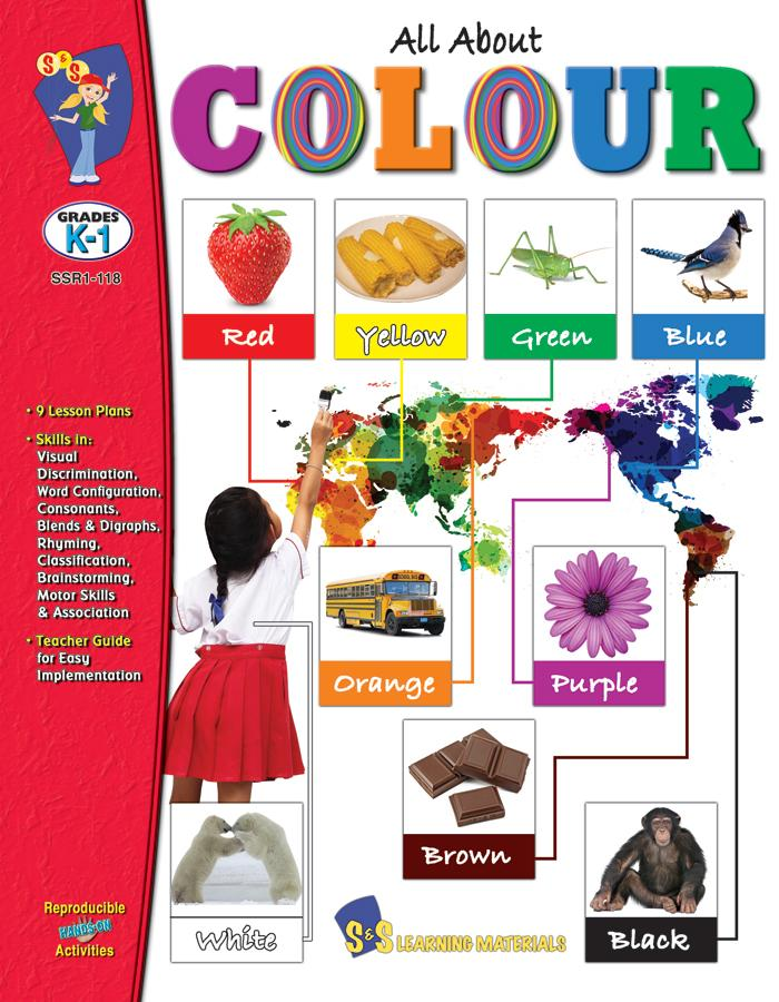 All about Colour Grades K-1