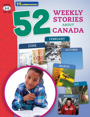 52 Weekly Stories About Canada Grades 2-3